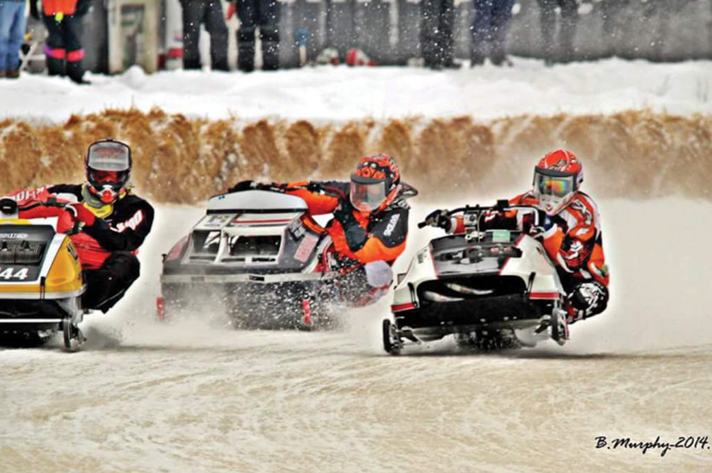 North Bay Snowmobile Speed Runs