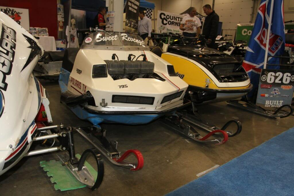 Ontario Snowmobile Oval Racers